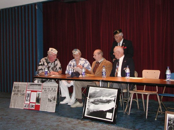 Five Wise Old Men at Corona del Mar High School, 2002
